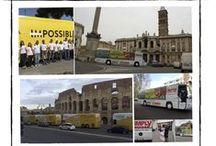 Road Show - Pubblicità Dinamica / Con il Road Show Pullman e London Bus funzionano da eventi itineranti. L'unica pubblicità che arriva dove e quando vuoi tu!