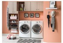 Laundry Room Ideas & Inspiration / Find inspiration for your laundry room update with DIY projects, decorating tricks, and renovation tips.