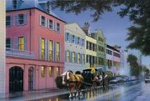 Charleston SC Heart Of Mine / I lived here as a young girl of sixteen and my heart never left / by Christine Steurer