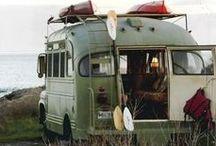 De acampada / Camping out (or in)