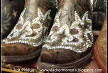 These Boots Are Made For / Woman's Boots  / by Amber Whitney