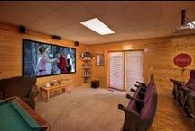 Cabins with Theater Rooms