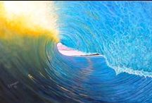 My Paintings/ Surf Art / I love the ocean and am constantly inspired by it!  Visit my Etsy shop where you can find originals and prints of my work.  Have a lovely day! / by Camille Youngquist