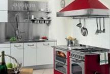 Red Hot and flaming / Red stoves to rock your home
