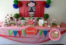 Cumpleaños n° 1 / Ideas y diseño final de la decoración del primer cumpleaños de mi hija