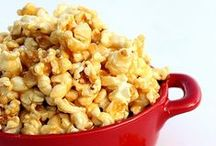 movie night / Some family favorite fun easy dinner meals & sweet treats perfect for a movie night in.