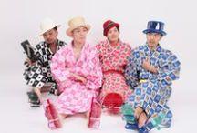 ROBE JAPONICA / **UNDER CONSTRUCTION**  Original Men's Kimono Brand in Harajuku, Tokyo メンズ きもの