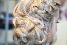 Hair / Hair styles. My other hair boards: Blonde, Brunette, Chelsea Kane, and Fun Colors / by Katie Garner