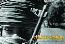 Child Soldiers / There are nearly 300,000 children, boys and girls employed as combatants, cooks, helpers, slaves and porters in militaries and militias. One of the worst violations of children's rights. This has to stop.