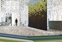 Bouroullec'Brothers Design / Les très remarquables bretons Ronan & Erwan Bouroullec dans leurs oeuvres. Un style très personnel, pur et inspiré. Une ingéniosité extrême et une grande inventivité dans les formes et les matières.