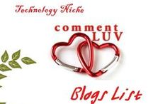 CommentLuv Blogs / The best CommentLuv Enabled blogs on the web. And everyone who is talking about CommentLuv.
