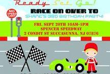 Race Car Party / by Jillian Spencer