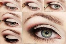 MY Eye Makeup that I Love / I've got small eyes, and I want to make them look bigger! Here you'll find makeup tips for small eyes, how to make your eyes look bigger, and the best recommendations for beautiful makeup that is good for your skin. Beauty never felt so good. / by Steph 🔥 Fearless Fresh