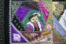all creatures large and small crazy quilt / by Kathy Estis