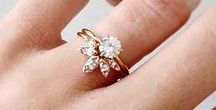 """Engagement Rings / Saying """"yes"""" to the one is the very first step to Happily Ever After..."""