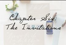 Chapter 6: The Invitations / Saving the date is effortlessly chic with these wedding invitation ideas.  / by Ivy and Aster