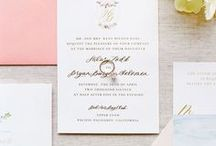 Wedding Invitations / Saving the date is effortlessly chic with these wedding invitation ideas.