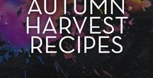 Autumn Harvest Recipes / The weather is thinking about turning chilly, or maybe it's a full-blown cold front where you live. Either way, it's time for comfort food! Stat!