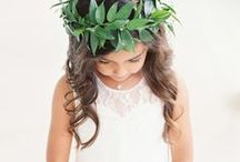 Flower Child / The cutest flower girls and ring bearers.
