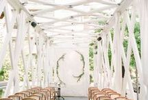 Wedding Ceremonies / Wedding ceremony decor to inspire your walk down the aisle.
