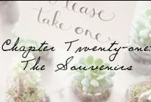 """Chapter 21: The Souvenirs / Wedding souvenirs that are the perfect way to say """"thank you"""" to those who came to celebrate your new journey.  / by Ivy and Aster"""