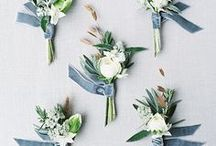 Boutonnieres / Wedding boutonnieres he'll love to sport on your big day.