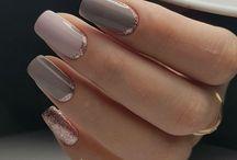 * Nails * / Nail styles and nail polish