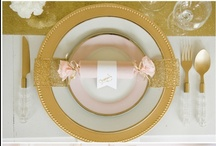 table decor / by Hope Schmidt