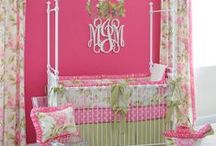 Color Trend: Pink & Green / A little girl's watermelon dream.