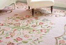 Adore Your floors / Posh rugs to spice up any room.