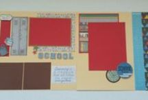 Scrapbook Pages and Supplies / Favorite supplies and scrapbook layouts.