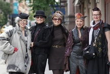 Women  with style that inspires / Fashion is not just for the young or thin or conventionally pretty, these women inspire me to dress fun and fabulous regardless of age or body type..