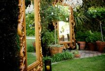 Yard Art / Flowers and decoration for my dream backyard wonder land.  / by Amber Pavelka