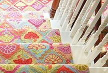Posh Patterns: Floral Frenzy / All types of flowery designs to brighten your home.