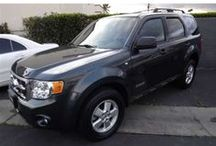 """Black Betty"" / '08 Ford Escape.  / by Amber Pavelka"