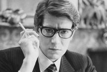 Yves Saint Laurent / Thank you for following my boards. I am always looking for new boards and pins! SO, follow me.. I love seeing your pins too! Seriously. Do it now. Right now :)