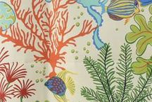 Tropical and nautical fabrics