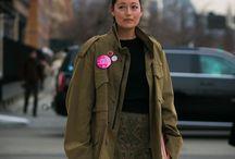 Fashion/Military Vibe