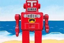 Random robots, stray star wars and definitely drwho / #robots #starwars #drwho #tech