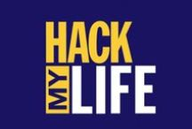 HACK My Life. / Useful, creative, and downright GENIUS ideas and inventions! Why didn't I think of that?! / by Amber Shores
