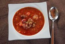 Pasta, Soups, Stews and Crockpot / by Kristine Slaba Lewis