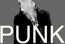 Prunkge / Prunkge describes a style combining Punk and Grunge, obviously. Ideally injected with Glamour and Gothic.