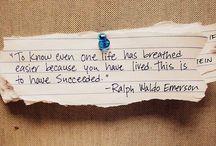 words / by Amanda Burns