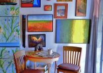 "Art Studio & Workspace / Where I make and hang fine art paintings.  Find me on Facebook under, Vanessa Hadady, BFA, MA.  Purchase: classroom instructional models (I am a certified instructor) through Etsy at ""West Ranch Cottage"" (https://www.etsy.com/people/jldanielsart), original artworks through: Saatchi (http://www.saatchiart.com/Hadady) and Artfinder (https://www.artfinder.com/hadady).  Blog: http://ArtsEasel.blogspot.com and principal art site www.GalleryPreviewOnLine.com"