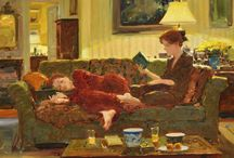 women reading / by Marty Benjamin-Selnick