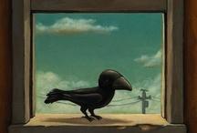 ART Rook & Other Birds / by Elyse Kutz