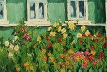 ART Garden & Greenhouse / by Elyse Kutz