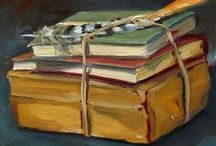 ART Still Life with Book(s) / by Elyse Kutz