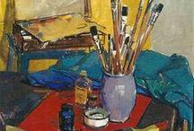 ART The Artist in the Studio / by Elyse Kutz