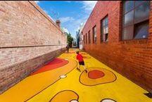 Landscape - laneway